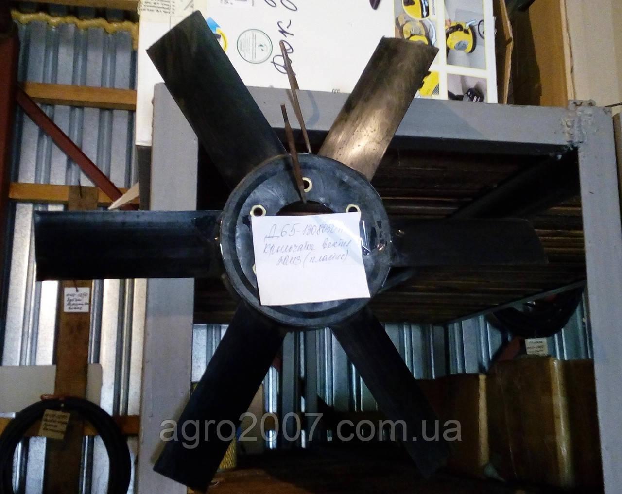 Д65-1308050П Крыльчатка вентилятора ЮМЗ (пластик)