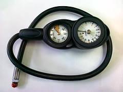 BS DIVER Консоль трёхприборная (манометр, глубиномер, компас )