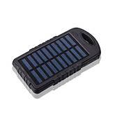 Внешний аккумулятор портативное зарядное устройство Solar 10800 led