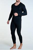 Термобелье мужское Jiber 161/160 черное, комплект термобелья, фото 1