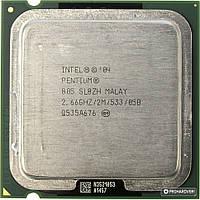 Процессор Intel Pentium D805 (2×2.66GHz/2Mb/s775) б/у