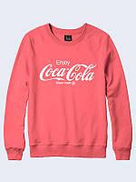 Женский  свитшот/реглан Coca-Cola с модным рисунком.