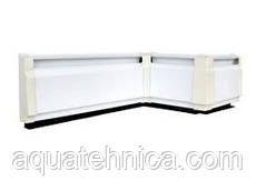 Тёплый электрический плинтус Термия 180 Вт 1 метр белый