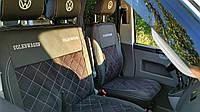 """Модельные чехлы Volkswagen T5 / Фольксваген Т5 (1+2) 2003-2013 """"Нубук"""", фото 1"""