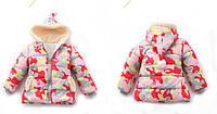 """Детская куртка """" Яркий камуфляж """" оптом , фото 1"""