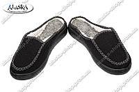 Женские бабуши черные (Код: Бабуши ДС-02)