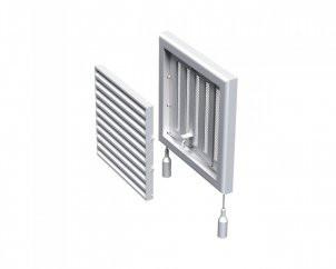 Регулируемая вентиляционная решетка Вентс МВ 100 Рс