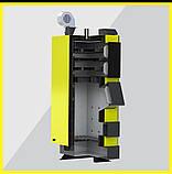 KRONAS UNIC New 35 кВт котел длительного горения на дровах и угле, фото 5