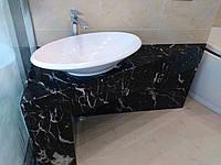 Столешницы для ванной из мрамора