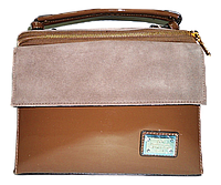 Класичесская женская лаковая сумка из искуственной кожи прямоугольная строгая