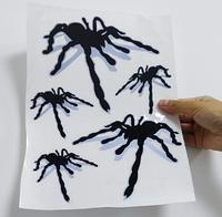 Наклейка для автомобиля 3D паук 14*12.5см