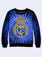 Женский свитшот Real Madrid для поклонниц испанской команды.