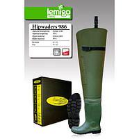 Забродные сапоги LEMIGO 989 зеленые