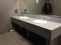 Столешницы для ванной из кварца