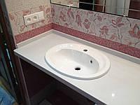 Столешницы для ванной из камня