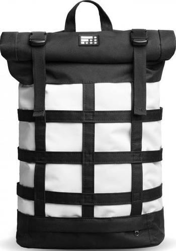 Футуристичный городской рюкзак 17 л. Fusion Neuron I, черно-белый