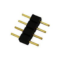 """Коннектор 4-pin для LED-ленты RGB (""""папка""""), фото 1"""