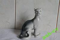 Статуэтка фарфор Пантера (Полонное, СССР)
