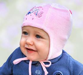 Головний убір для малюків Білий Осінь 38-40 см 3-002221 Tutu Польща