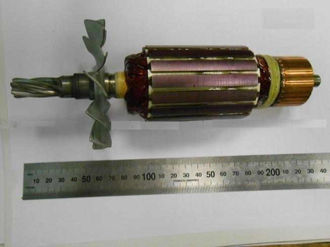 Якорь с вентилятором GCO 14-1 Bosch  2610911655)