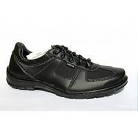 Мужские спортивные туфли (кроссовки) повседневного и школьного стиля р.40-45, туфли черные идут под всю одежду
