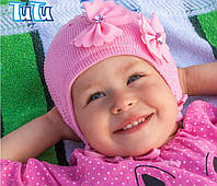 Головной убор Осень Розовый 3-002490 38-42 см Tutu Польша