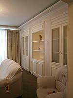 Деревянная мебель, шкаф, стелаж встроеный