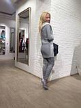Женские  брюки штаны серые в клетку  I -WH fashion, фото 3