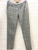 Женские  брюки штаны серые в клетку  I -WH fashion