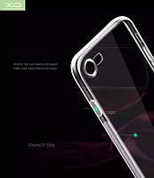 Прозрачный TPU чехол для iPhone 7 / iPhone 8 XO
