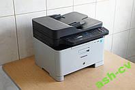 Цветной лазерный МФУ Samsung CLX-3305FW