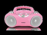 Магнитола Soundmax SM-2401 с CD, MP3, 2 колонки, ЖК дисплей