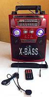 Радиоприемник-колонка New Kanon KN-62, MP3, USB + запись звука, пульт