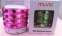 Портативная колонка Music Mini Bluetooth Speaker (MP3/USB/microSD-TF/FM)