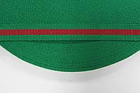 ТЖ 15мм репс (50м) зеленый (трава)+красный , фото 1