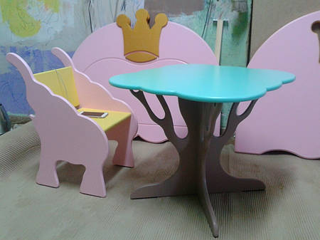 Набор стол со стульями