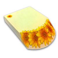 Бумага для заметок в 3D-блоке «Георгины» серии «Цветы»