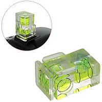 Двухосевой (2-х уровневый) пузырьковый уровень для фотоаппарата 2D.
