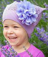 Головной убор для девочек Розовый Осень 50-54 см 3-002554 Tutu Польша