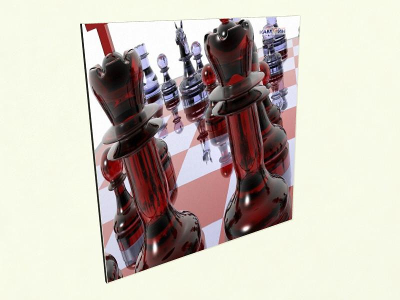 Керамічний обігрівач КАМ-ИН із зображенням у вітальню