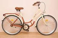 """Велосипед 26"""" West Bike City Comfort Коричневый"""