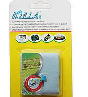 Микрофибра Kulla Magic 18x18см для чистки LCD, DVD, оптики, экрана телефонов, фотоаппаратов и др.