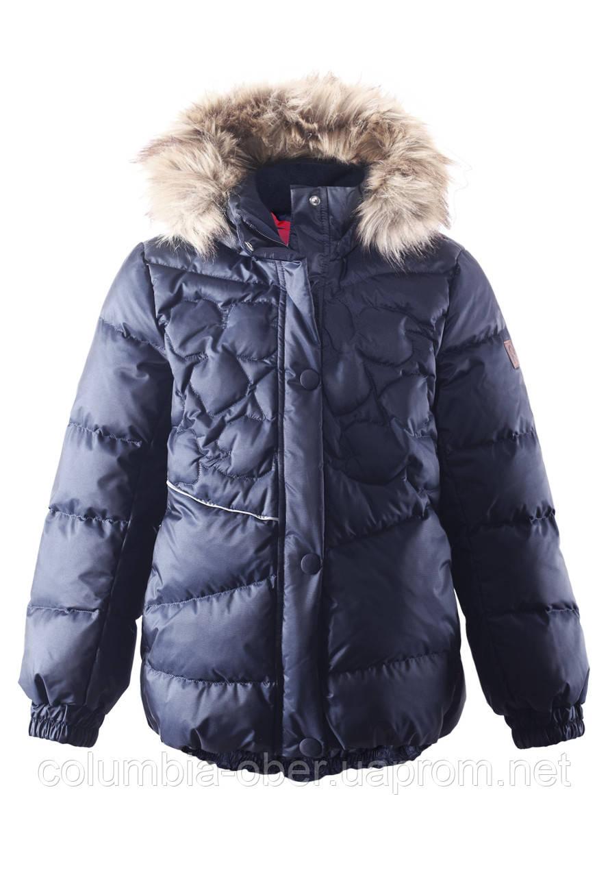 Зимняя куртка - пуховик для девочек Reima 531230. Размеры 122 - 146.