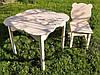 Комплект стол + 2 стула, фото 3