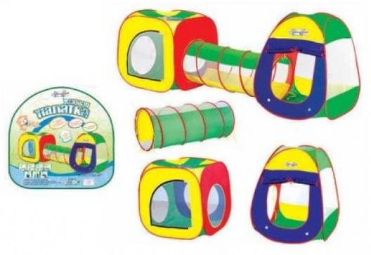 """Детская игровая палатка - тоннель 3 в 1. Комплекс """"Cary Bear"""" 8807"""