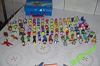 Много игрушек с киндеров и прочего...  Более 100шт