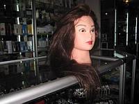 Голова болванка манекен для причесок Черный