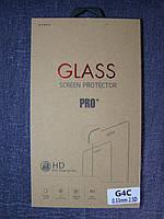Защитное стекло для LG Magna H500 H502 Y90 закаленное 0.3mm 2.5D 9H