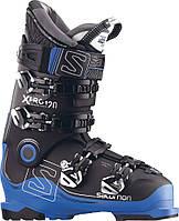 Горнолыжные ботинки Salomon X PRO 120 BK/Ind.blue/Anthra (MD 17)