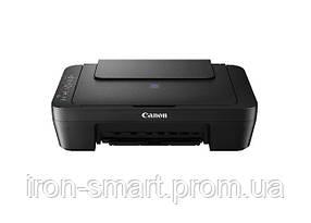 МФУ струйное цветное Canon E414 (1366C009), Black, 600x4800 dpi, до 8/4 стр.мин., USB (картриджи PG-46 / CL-56)